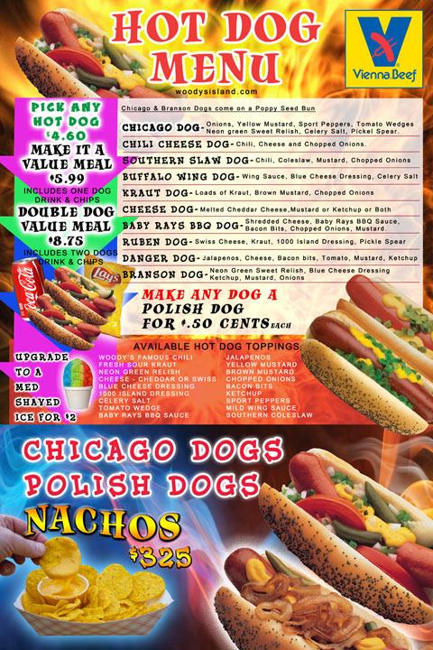 Photo Of Chicago Hot Dog