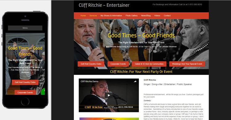 cliff-ritchie-website