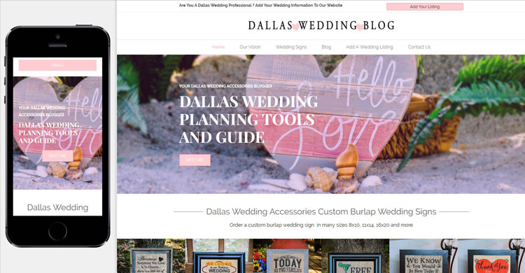 dallas-wedding-website-design