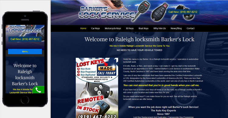 website-design-barkers-lock-service