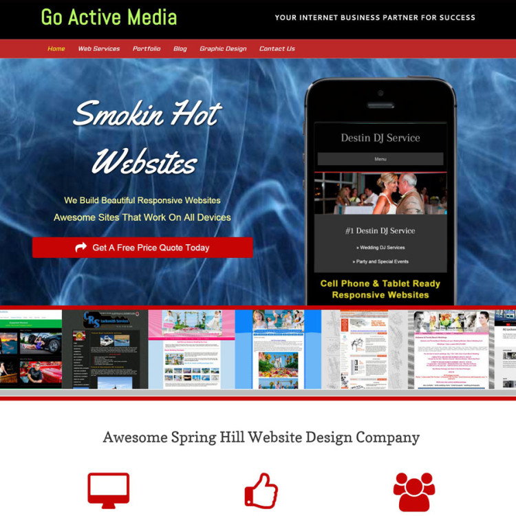 Spring-Hill-Website-Design-service